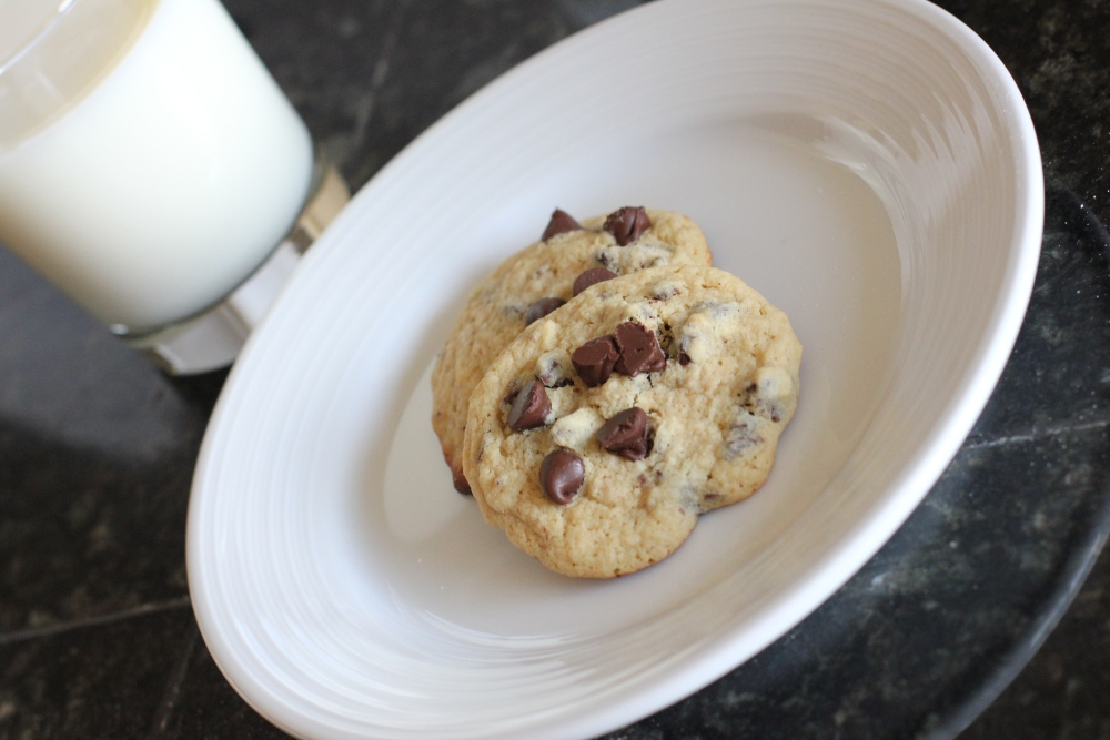 Quinoa Week: Chewy chocolate chip cookies (2/3)